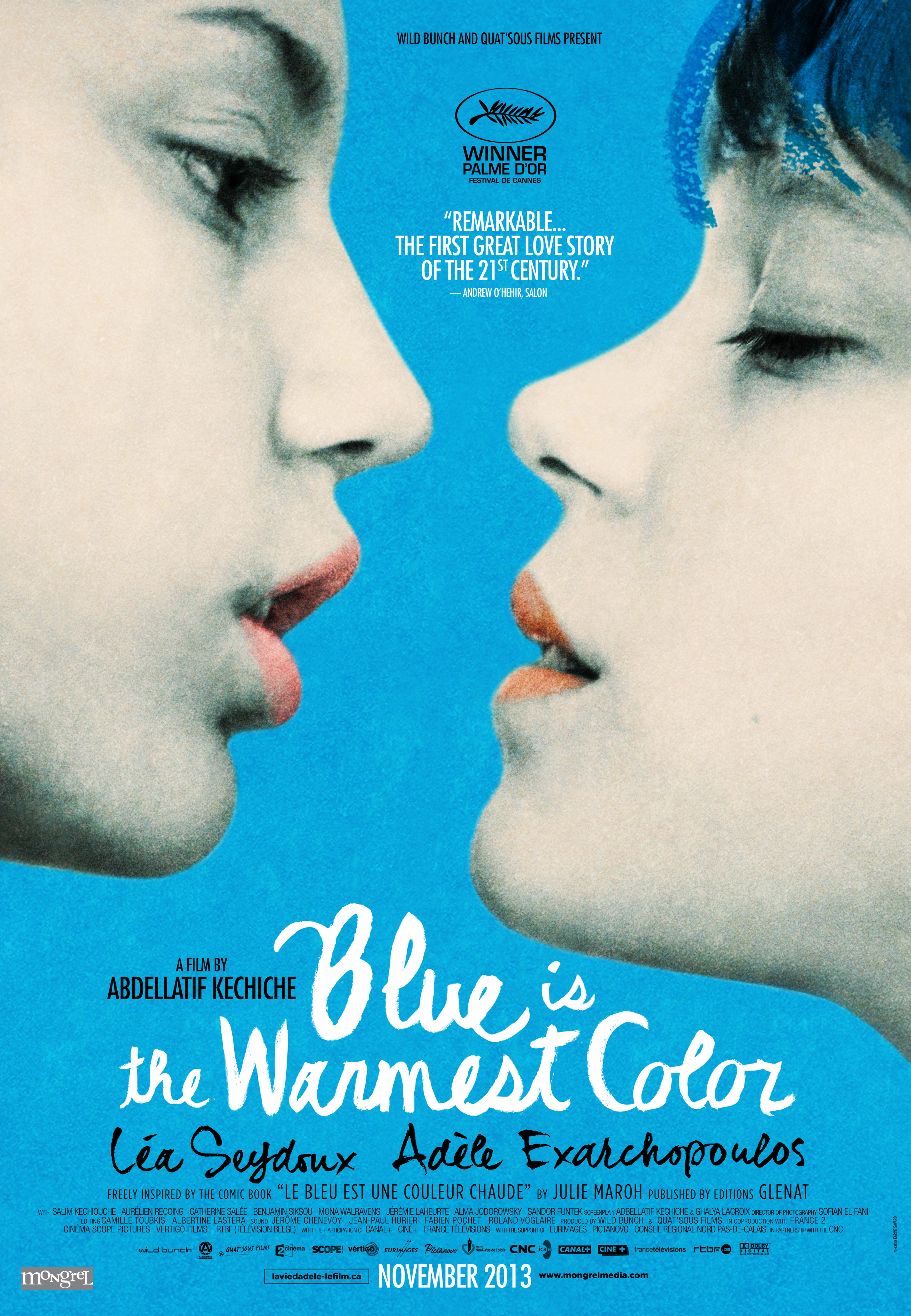 Blue Warmest Color 2013