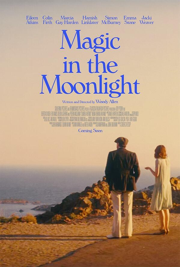 Resultado de imagem para Magic in the Moonlight poster