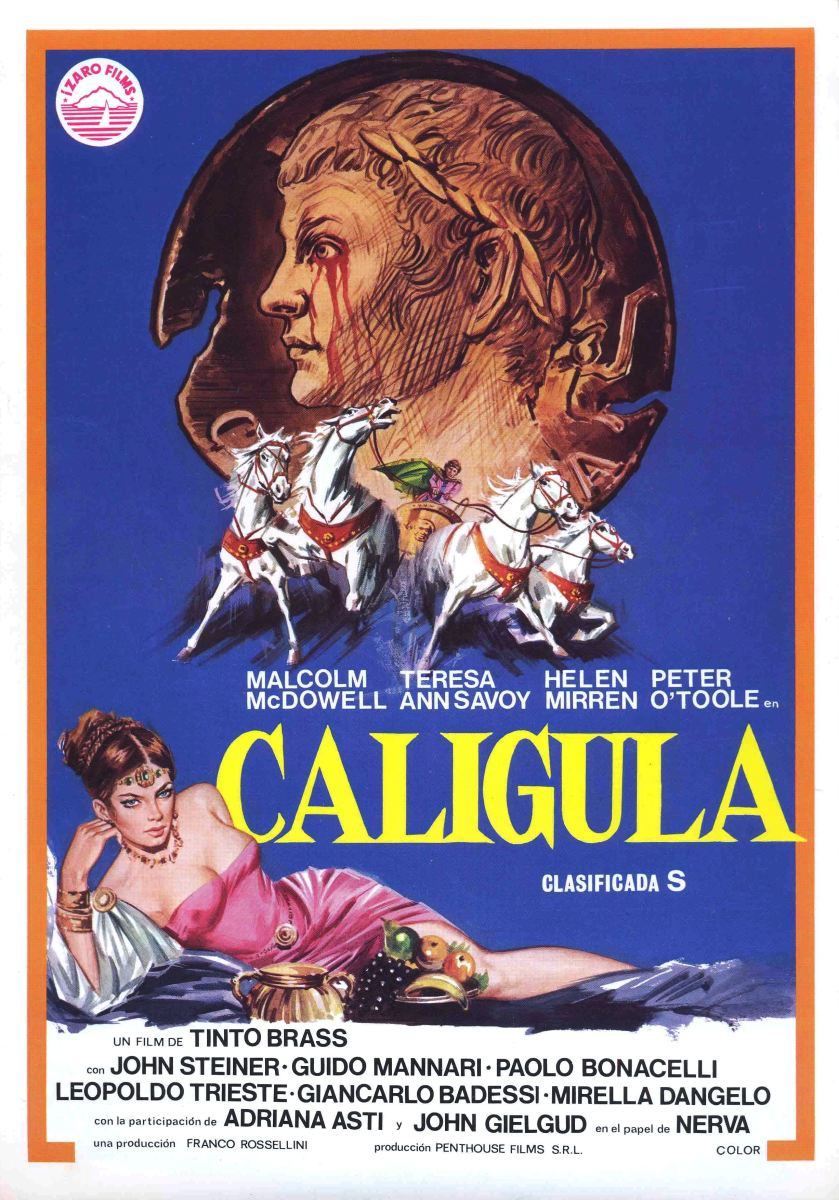 """1979 Porn Movies caligula (1979): """"let them hate me, so long as they fear me"""