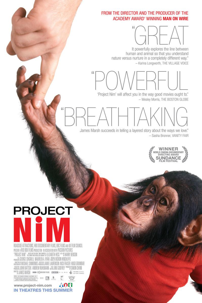Project Nim (2011): Quick-shot review! | FILM GRIMOIRE