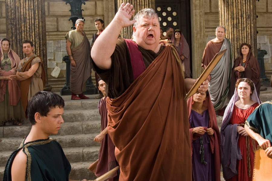 Image result for hbo rome addressing