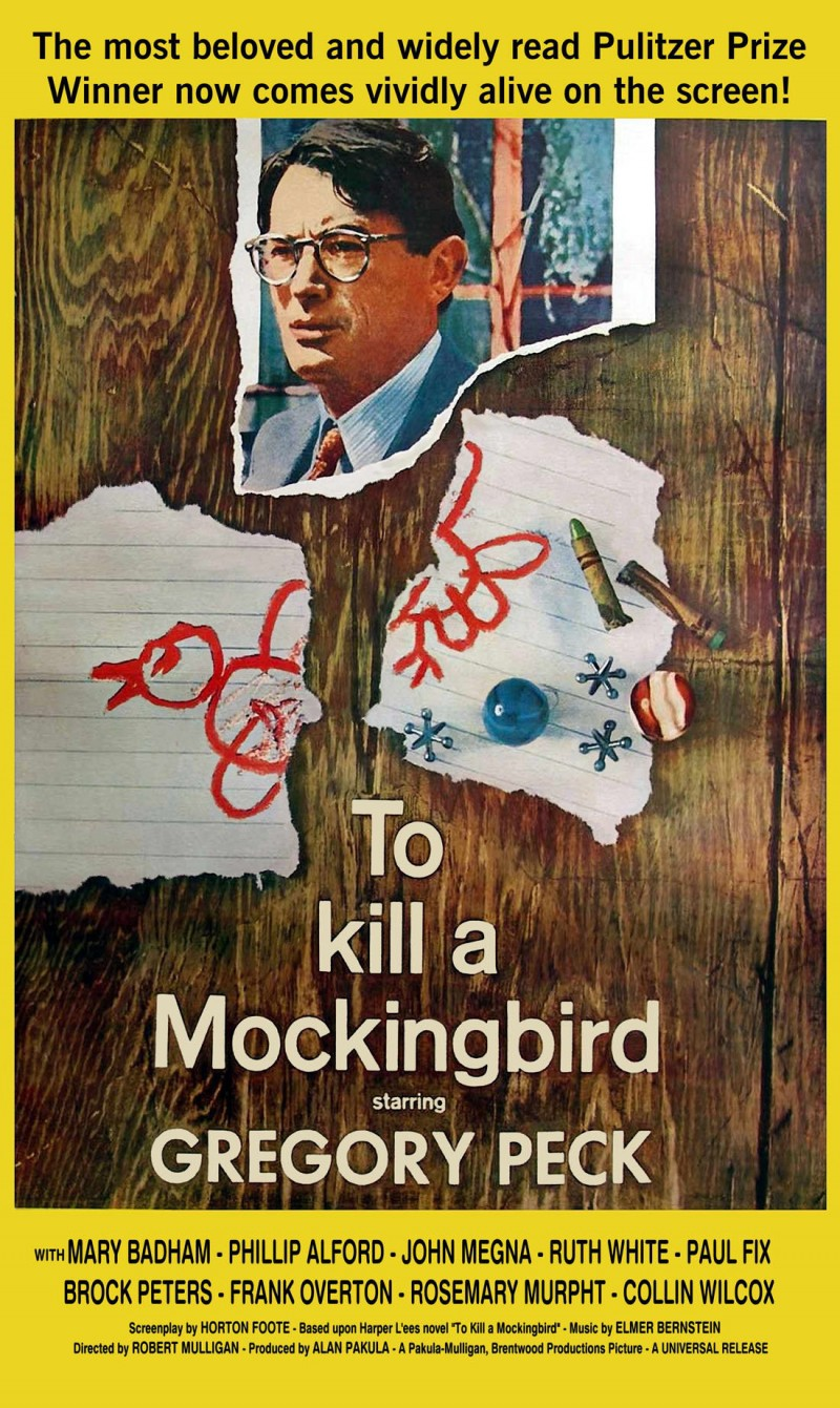 to kill a mockingbird film To kill a mockingbird is a time capsule, preserving hopes and sentiments from a kinder, gentler, more naive america it was released in december 1962, the last month of the last year of the complacency of the postwar years the following november, john f kennedy would be assassinated nothing.