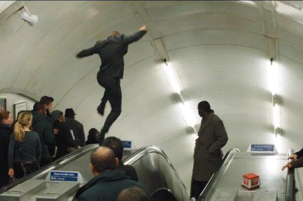 On Location: Bond's escalators at Charing Cross | FILM GRIMOIRE